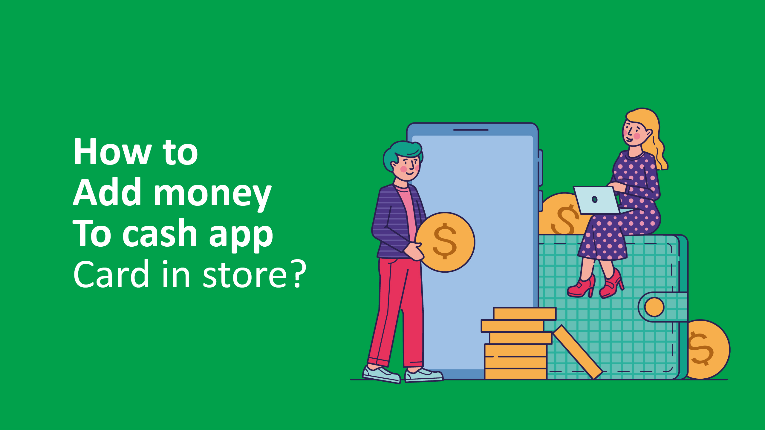 How to add money to a Cash App card in store
